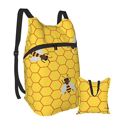 KANSS Hummeln, die Honig produzieren, indem sie Wabenzellen füllen