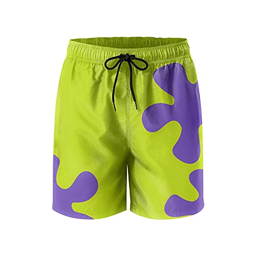 IORTY RTTY Mens Funny Swim Trunks Quick Dry Surfing with Mesh Lining Summer Beach Shorts Anime Board Shorts