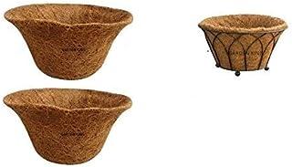 GARDEN KING 14 INCH ECO Friendly Coir Liner for 14 Designer Floor Basket (Set of 2 PCS)