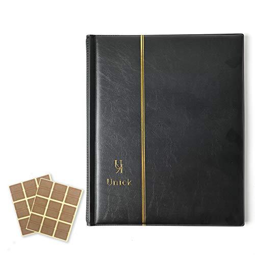 ビックリマンチョコシール用ファイル アルバム コレクション ケース A4サイズ 400枚収納 ブラック