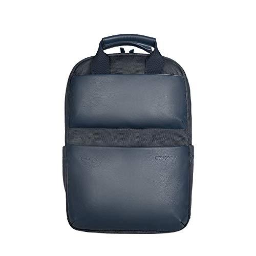 Tucano-Zaino Porta Pc Compatibile con MacBook PRO Air 13 e Laptop 14 . Imbottito e Protettivo per Laptop, iPad e Tablet; Tasca di Sicurezza, Schienale ergonomico, Materiale Tecnico Ecopelle