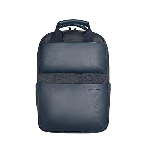 Tucano-Zaino Porta Pc Compatibile con MacBook PRO/Air 13 e Laptop 14'. Imbottito e Protettivo per Laptop, iPad e Tablet; Tasca di Sicurezza, Schienale ergonomico, Materiale Tecnico Ecopelle