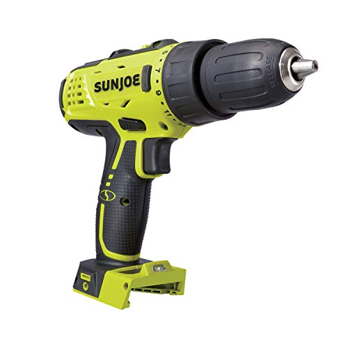 Sun Joe 24V-DD-CT Cordless 24-Position 2-Speed Drill Driver, Tool Only