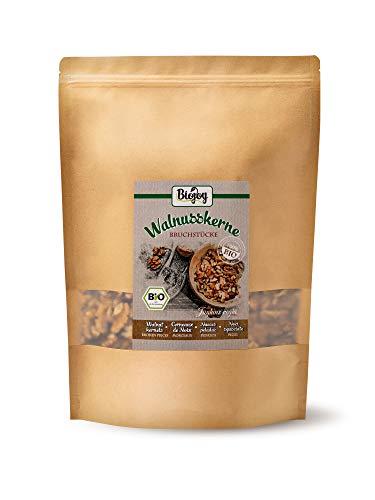 Biojoy Nueces peladas orgánico, pedazos - Juglans regia (1 kg)