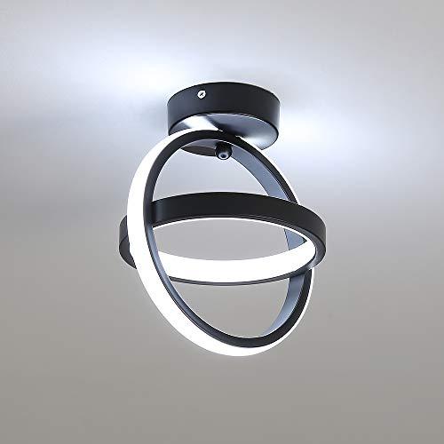 DAXGD Plafoniere a LED, 21W Lampada da soffitto Illuminazione per Soggiorno Cucina Corridoio Balcone Ingresso, Completo per Illuminazione a Parete (Luce Bianca Fredda)