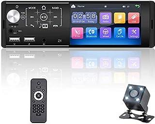 "$56 » OiLiehu Single Din Car Stereo Bluetooth 12V 4.1"" Car MP5 Player HD Touch Screen with Dual USB Port / FM / AM / Mirror Link..."