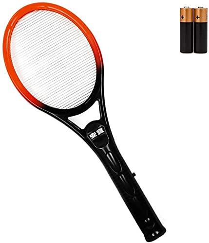 HYLDM Scacciamosche Elettrico Bug Zapper Batteria Portatile a Racchetta Singolo Strato Cordless Home Repellente per zanzare Killer, scacciamosche Elettrico