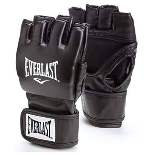 Everlast Erwachsene Boxartikel 7561 Martial Arts Open Thumb Gloves Boxhandschuhe, Black, S/M