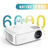Projektor Native 1080p LED Heimkino Beamer Full HD