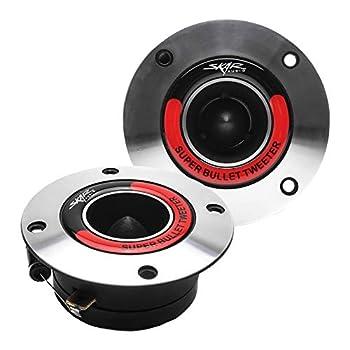 Skar Audio VX175-ST 1.75-Inch 400 Watt High Compression Aluminum Bullet Super Tweeters Pair