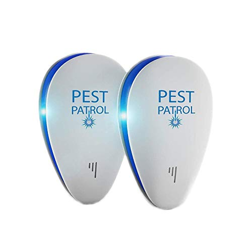 Pest Patrol 2-Pack Ultrasonic Pest Repeller & Bug...