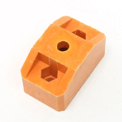 12 mm Dia Triple Hole 44mm Hoogte Bus Bar Isolator Ondersteuning Oranje