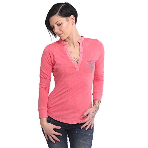 Yakuza Damen Rose of 893 Dye Shirt Longsleeve