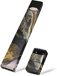 Skinit Gold Blush Marble Ink Skin for Juul Premium Wraps for Juul Device - Original Marble Design - Ultra Thin 3M Vinyl, Residue Free, Easy Application