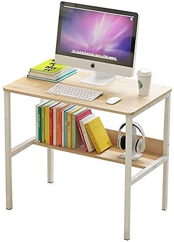 Escritorio de pie para computadora de escritorio de estudio moderno escritorio de escritura para el hogar y la oficina, espacios pequeños, ahorro de espacio, fácil de montar