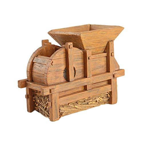 Huanxin Planta En Maceta Artificial, Decoración De La Casa De Campo Rústica para El Hogar, La Cocina Y La Oficina, Ideal Arreglos De Flores De Seda,A