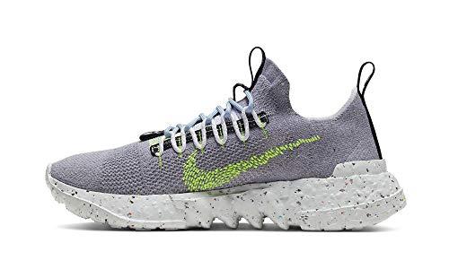 Nike Space Hippie 01, Zapatillas Deportivas Hombre, Grey Volt Glow Photon Dust, 36.5 EU