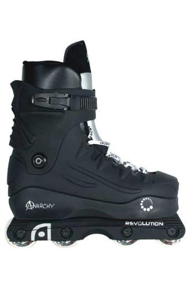 HOLDALL Anarchy Revolution Black/Silver Inline Skates