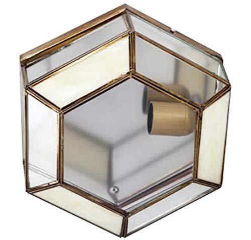 Lámpara plafón granadino opalina