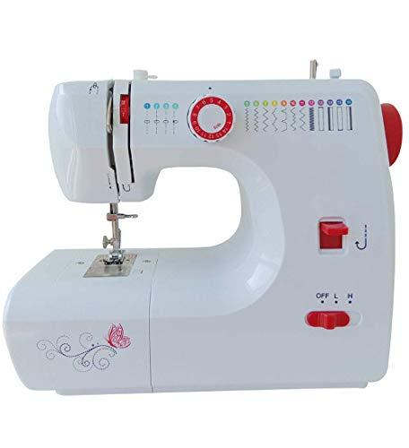 WYJW Mini-naaimachine, draagbaar, klein, compact, licht, draagbaar, multifunctioneel, voor huishouden, beginners