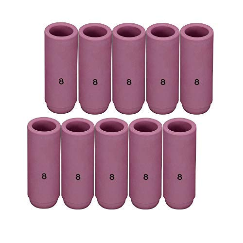 "13N09 #5 5//16/"" TIG Nozzle Ceramic Cups for PTA SR DB WP-9 20 25 TIG Torch 10PK"