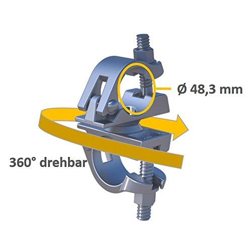 Raccord tournant B pour tubes d'échafaudage standard SW 19 / 22