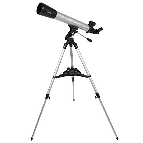 National Geographic CF700SM Telescope w/Phone Adapter Silver CF