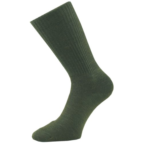 1000 Mile Unisex Double Layer Combat Sock Double Layer Combat Sock (1 Stück) Medium grün