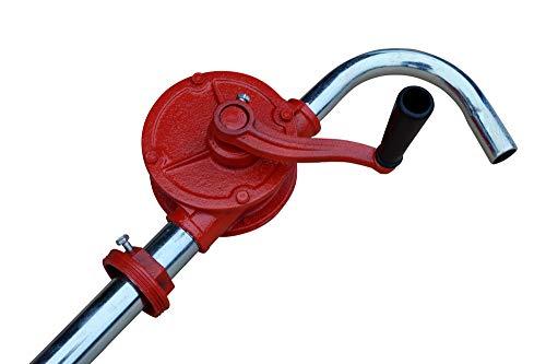Heizöl Diesel Fasspumpe Kurbelfasspumpe Handpumpe G2 Fassverschraubung 40 l/min