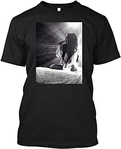 Demi Lovato TMYLM 16 Tee|T-Shirt,Black,Large