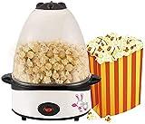 LITINGT Mini máquina de Palomitas de maíz eléctrica, máquina de Palomitas de maíz para el hogar, máquina de Palomitas de maíz con Aceite de 500 W para Hacer Palomitas de maíz DIY, máquina de palomit