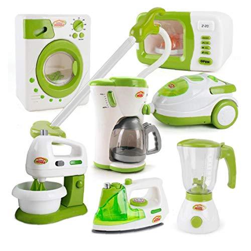 shentaotao 1PC niños Cafetera Juguete Mini Cocina de Juguete de estimulación eléctrica...