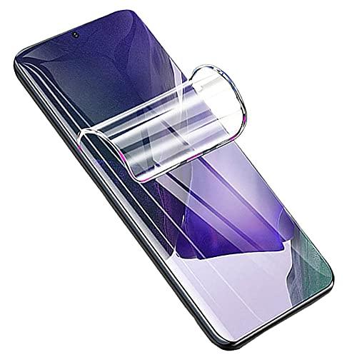 Iiseon Premium hidrogel Protector de Pantalla para Samsung Galaxy A50/M21/M31/M30S, 2 Unidades Suave Película Protectora [Transparente] [Alta sensibilidad] (Película no templada)