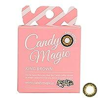 キャンディーマジック アクア 1箱1枚入 度あり マンスリー 【カラー】グラスブラウン 【PWR】-2.00