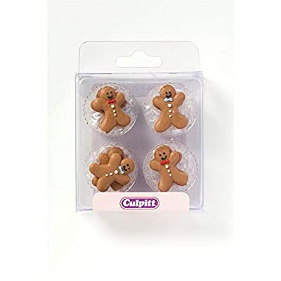 Gingerbread Cake and Cupcake Toppers