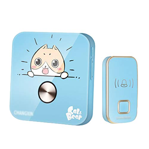 GOAIJFEN deurbel voor ouderen, draadloze knop, pager, alarminstallatie, SOS-Call Home veiligheid patiënt alarm systeem 1 Launcher 1Receiver
