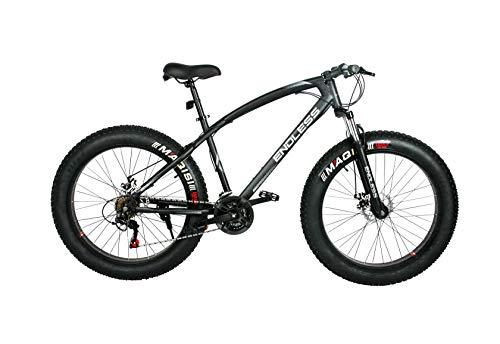 Endless 26T Fat Tyre Mountain Bike (Mat Black)
