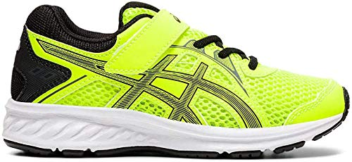 ASICS JOLT 2 PS, Zapatillas Deportivas, Safety Yellow/Black, 35 EU
