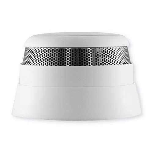 frient Intelligent Smoke Alarm | kabelloser Funk Rauchmelder | sofortiger Feueralarm | EN 14604 | DIN 14674 | Batteriebetrieben | Zigbee | funktioniert mit Google Assistant, SmartThings, und Homey