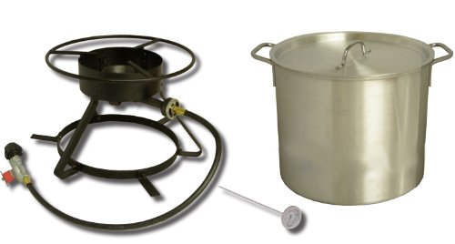 King Kooker Coastal Boiling Outdoor Cooker Package, # 5002