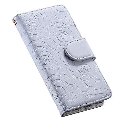 iphone7 iphone8 ケース 手帳型 ブランド カード収納 財布型 花柄 革 レザー アイフォン7 アイフォン8 ケース 4.7インチ スマホケース 携帯ケース iphone ケース カバー カードケース 財布 耐衝撃 保護 マグネットカード入れ