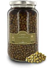 Alcaparras de Pantelleria en Aceite de Oliva Virgen Extra, Calibre pequeño 4/8 mm - Tarro de 950gr