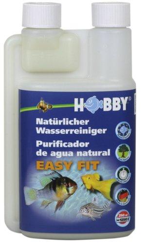 Hobby 51010 Easy Fit Wasseraufbereiter wichtige Naturmineralien für Ihr Aquarienwasser, 250 ml