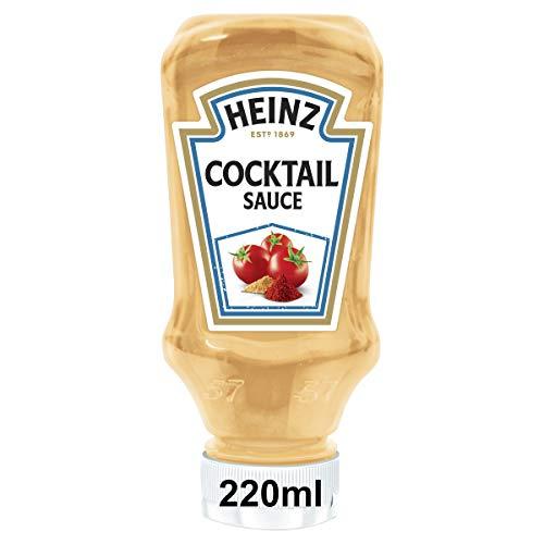 Heinz Cocktail Sauce, Kopfsteherflasche, 8er Pack (8 x 220ml)