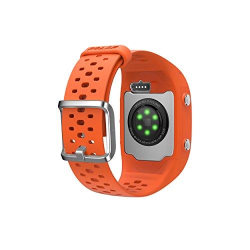 Polar M430 GPS Running Watch, Orange, Medium/Large
