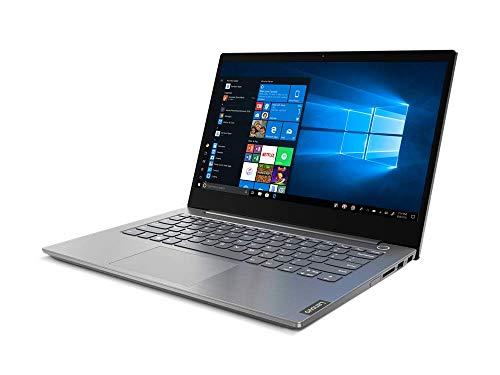 "Lenovo ThinkBook 14 - Ordenador portátil 14"" FullHD (Intel Core i3-1005, 4GB RAM, 128GB SSD, UMA Graphics, Windows 10 Pro), Color Gris - Teclado QWERTY español"