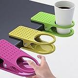 supplies Drink Cup Coffee Mug Desk Lap Folder Table Holder Clip