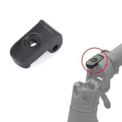 aibiku Faltende Schnalle für Xiaomi Mijia M365 Elektro Scooter - Electric Scooter Zubehör Einzelteile (Schwarz)
