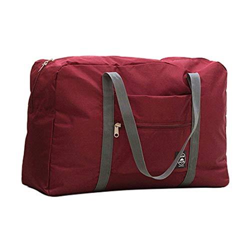 BiaBai Large-Capacity Travel Baggage Storage Bag Foldable Travel Bag Clothes Sorting Bag Outdoor Travel Storage Bag