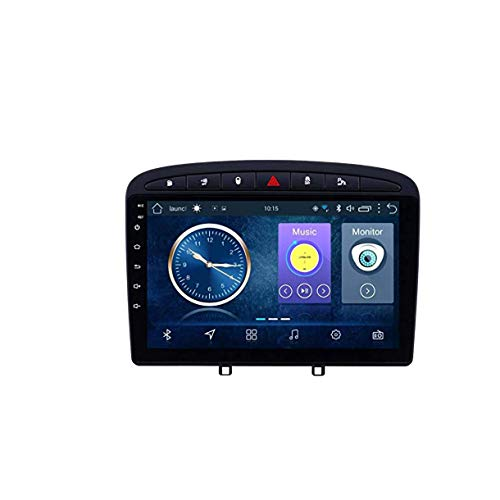 Lour Android 8.1 Navegación GPS de navegación para automóviles GPS para Peugeot 308 408 (2010-2016) con CANBUS 9